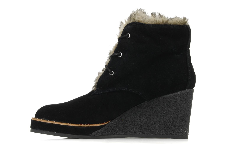 Bottines et boots No Name New aki crepe desert botte Noir vue face