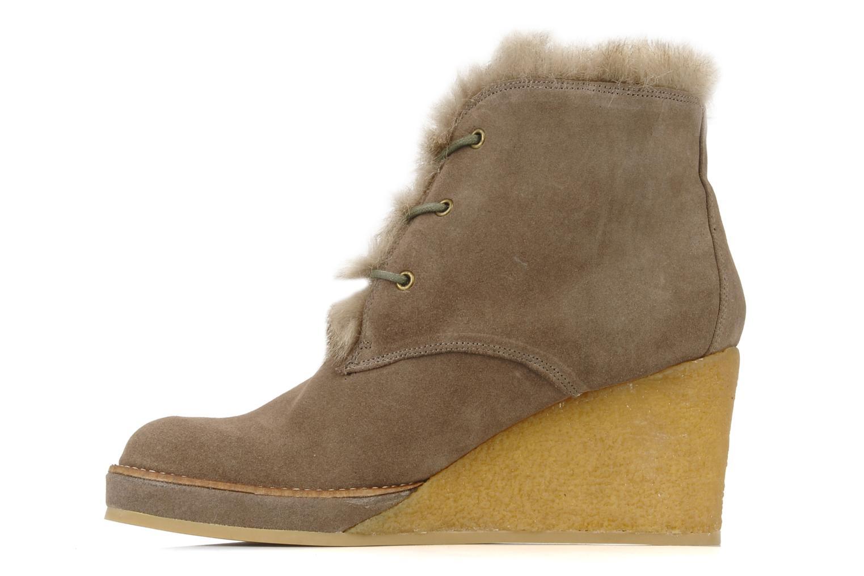 Boots en enkellaarsjes No Name New aki crepe desert botte Beige voorkant