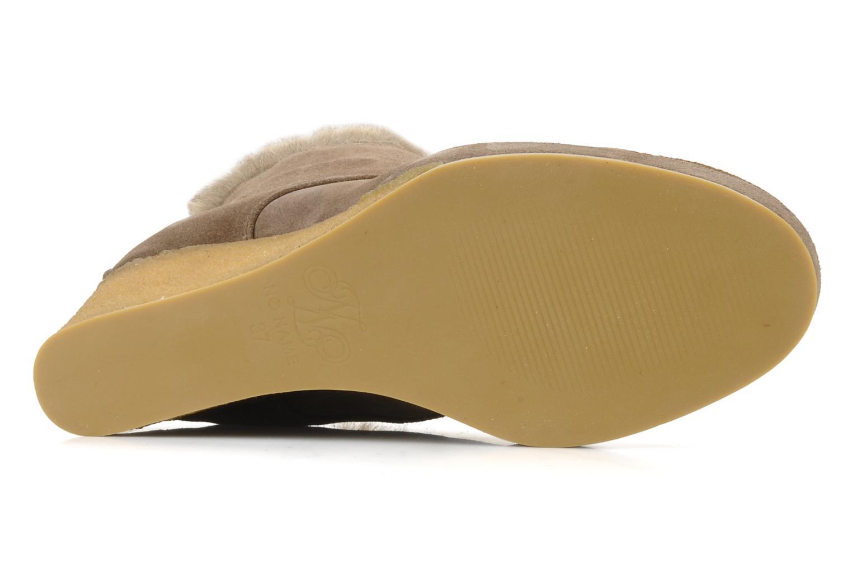 Boots No Name New aki crepe desert botte Beige bild från ovan