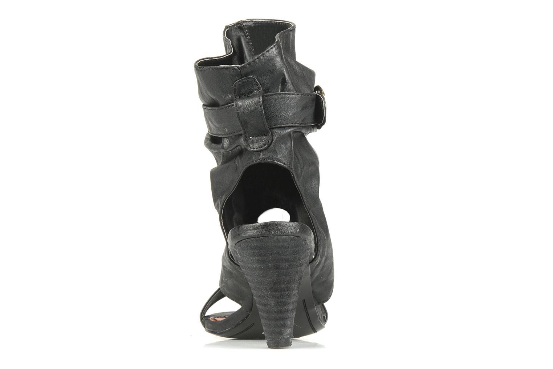 Sandales et nu-pieds Spot On Marila Noir vue droite
