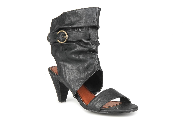 Sandales et nu-pieds Spot On Marila Noir vue détail/paire
