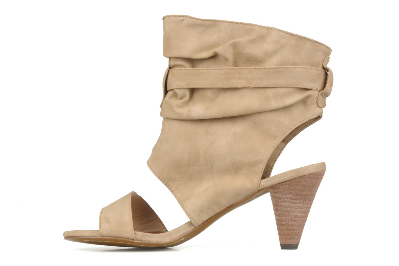 Sandales et nu-pieds Spot On Marila Beige vue face