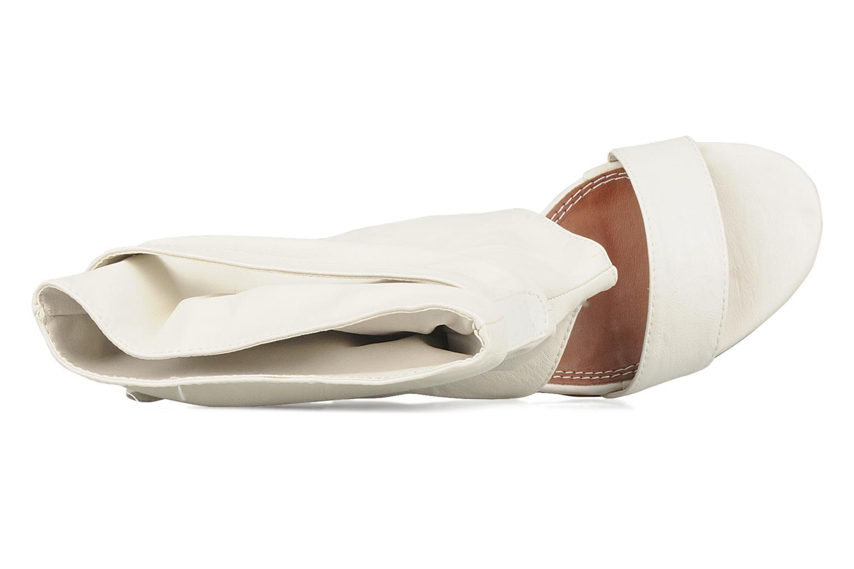Sandales et nu-pieds Spot On Marila Blanc vue gauche