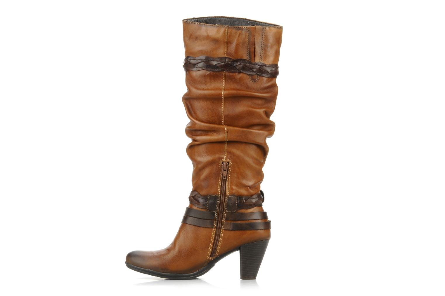 Boots & wellies Pikolinos Verona 8563 Brown front view