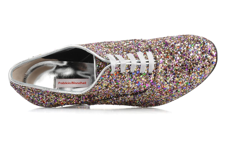 Scarpe con lacci Patricia Blanchet Lb Multicolore immagine sinistra
