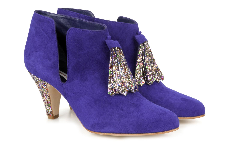 Bottines et boots Patricia Blanchet Pl55 bis Bleu vue 3/4