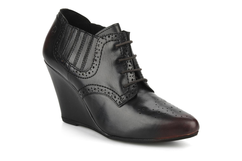 Schnürschuhe Bronx Hype schwarz detaillierte ansicht/modell