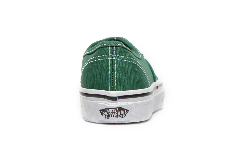 Sneaker Vans Authentic E grün ansicht von rechts