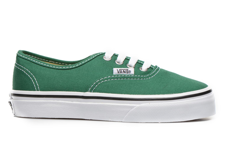 Sneaker Vans Authentic E grün ansicht von hinten