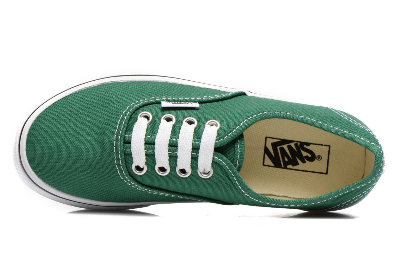 Sneaker Vans Authentic E grün ansicht von links