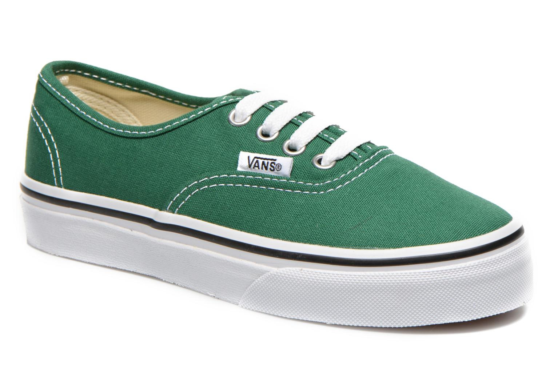 Sneaker Vans Authentic E grün detaillierte ansicht/modell