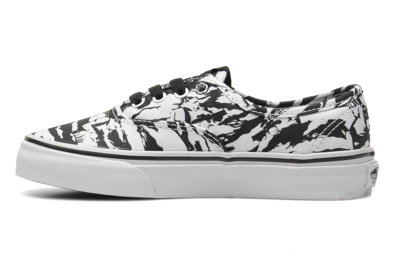 Sneaker Vans Authentic E schwarz ansicht von vorne