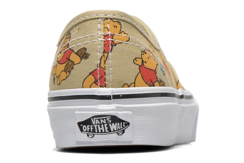 Baskets Vans Authentic E Multicolore vue droite