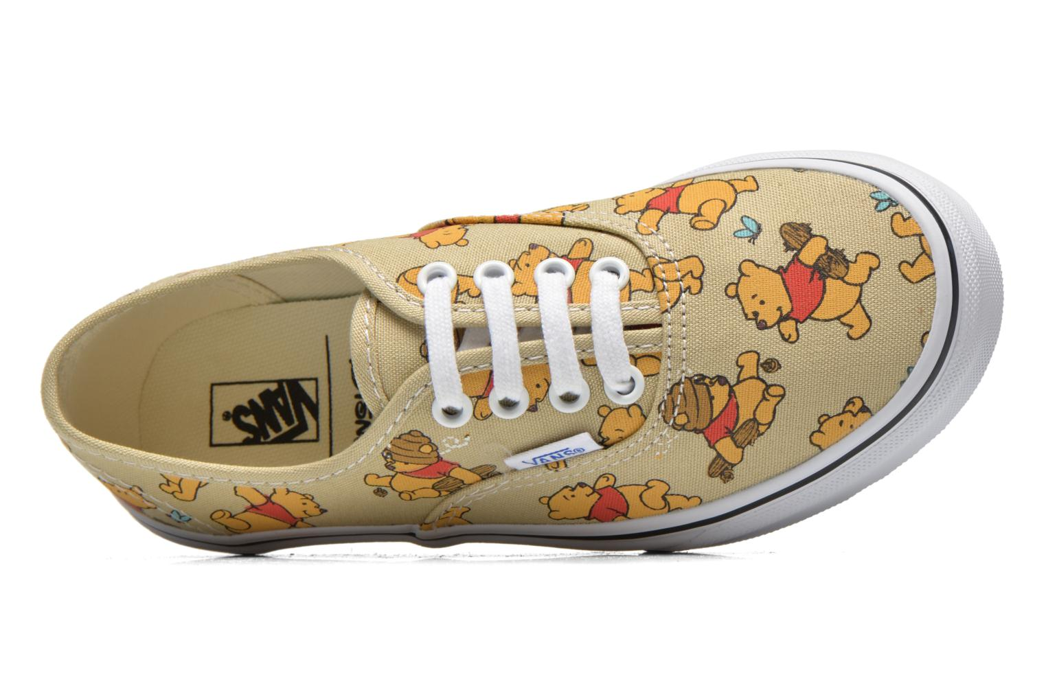 Baskets Vans Authentic E Multicolore vue gauche