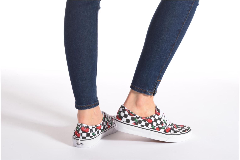 Sneaker Vans Authentic E mehrfarbig ansicht von unten / tasche getragen