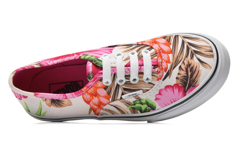 Sneaker Vans Authentic E mehrfarbig ansicht von links