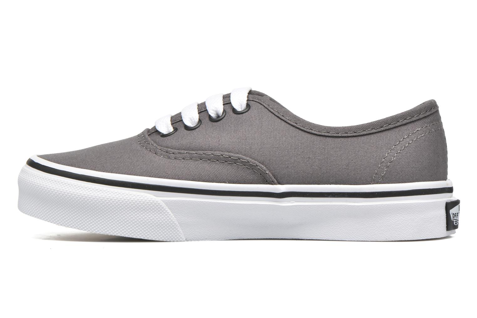 Baskets Vans Authentic E Gris vue face