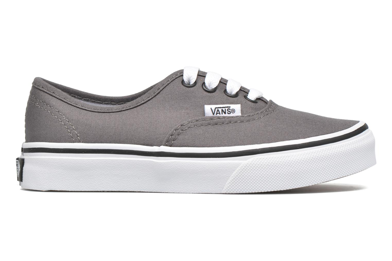 Baskets Vans Authentic E Gris vue derrière