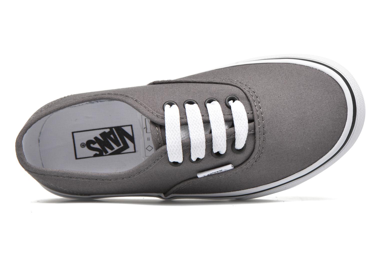 Sneakers Vans Authentic E Grijs links