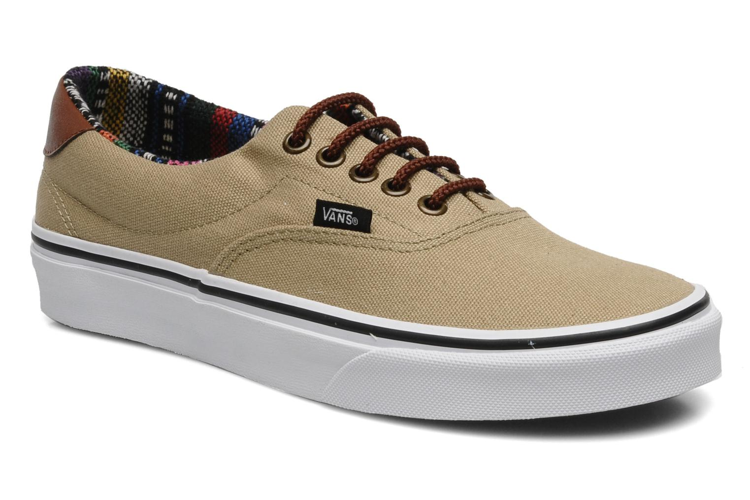 vans beige and brown