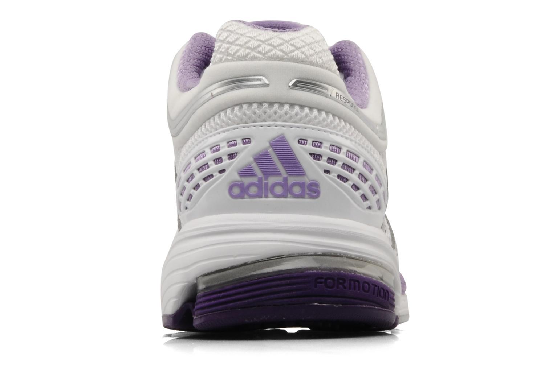Chaussures de sport Adidas Performance Response cushion 20 w Blanc vue droite