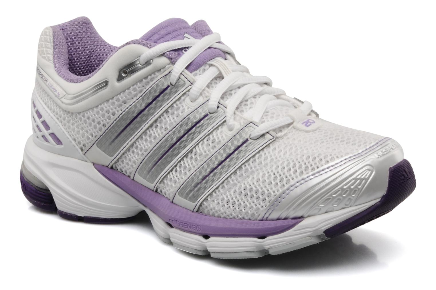 Sport shoes Adidas Performance Response cushion 20 w White detailed view/ Pair view