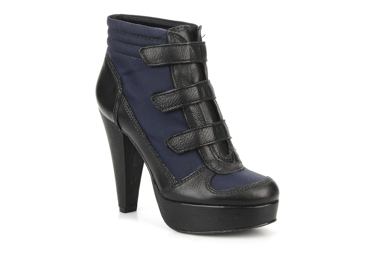 Ankelstøvler Carvela Sybil Sort detaljeret billede af skoene