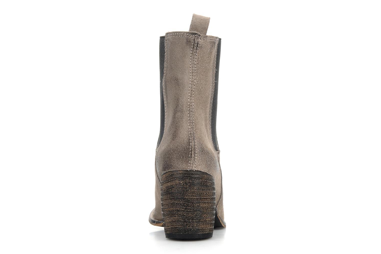 Bottines et boots Jeffrey Campbell Areas Gris vue droite