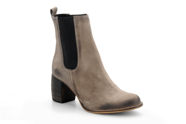 Bottines et boots Jeffrey Campbell Areas Gris vue détail/paire