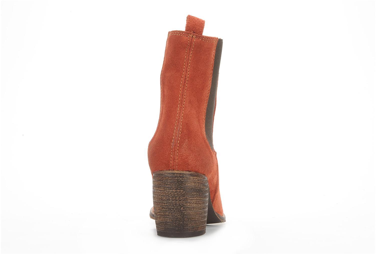 Bottines et boots Jeffrey Campbell Areas Orange vue droite