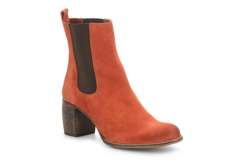 Bottines et boots Jeffrey Campbell Areas Orange vue détail/paire