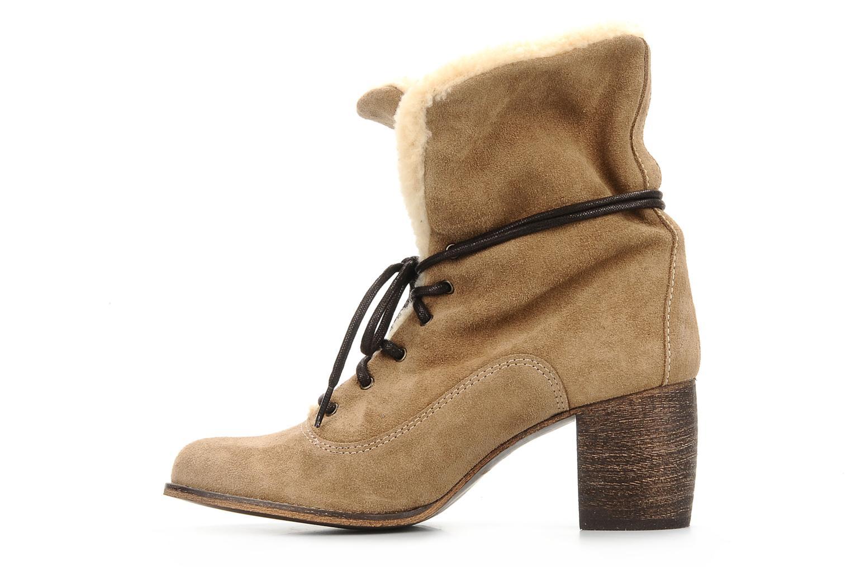 Bottines et boots Jeffrey Campbell Azure Beige vue face