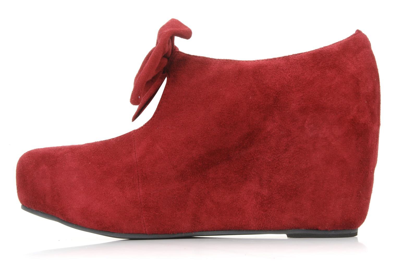 High heels Jeffrey Campbell Papillon Burgundy front view