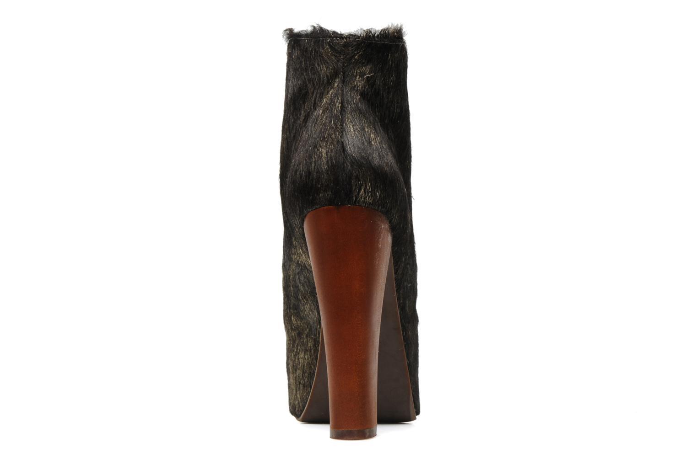 Bottines et boots Jeffrey Campbell Lita Or et bronze vue droite