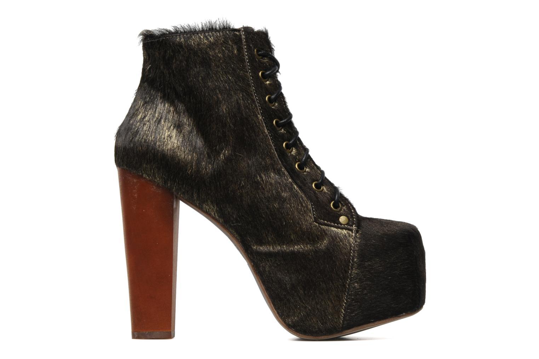 Bottines et boots Jeffrey Campbell Lita Or et bronze vue derrière