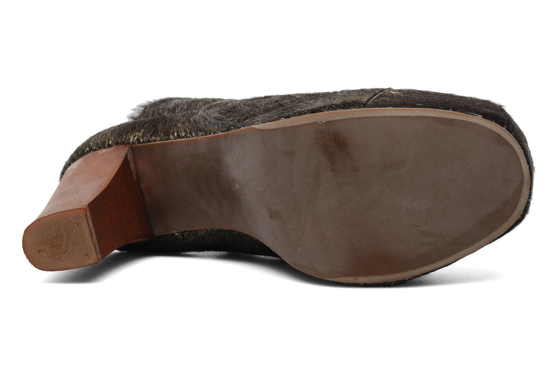 Bottines et boots Jeffrey Campbell Lita Or et bronze vue haut