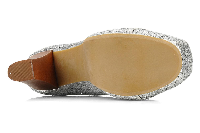 Stiefeletten & Boots Jeffrey Campbell Lita silber ansicht von oben