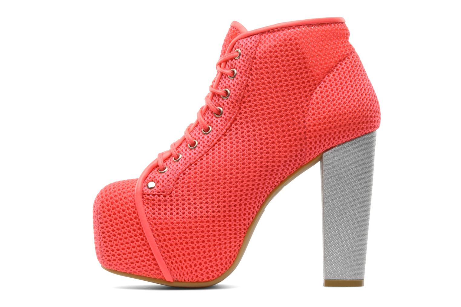 Ankle boots Jeffrey Campbell Lita Pink front view