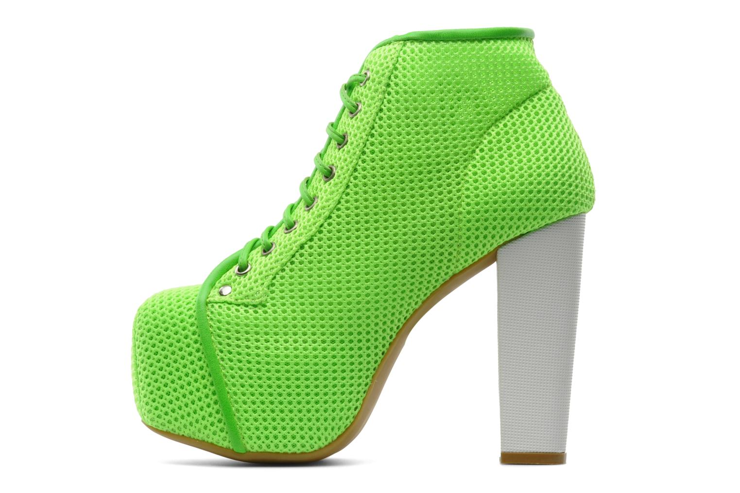 Ankle boots Jeffrey Campbell Lita Green front view