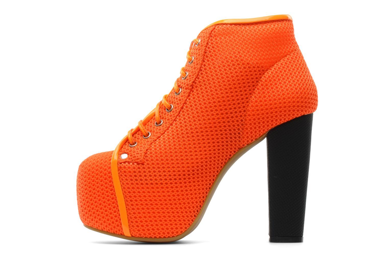 Stiefeletten & Boots Jeffrey Campbell Lita orange ansicht von vorne