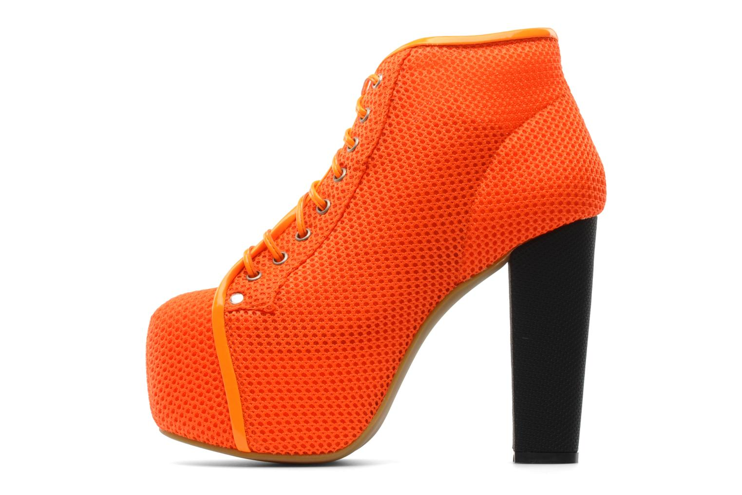Ankle boots Jeffrey Campbell Lita Orange front view