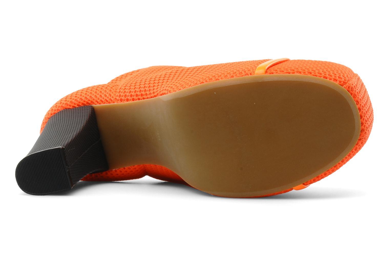 Stiefeletten & Boots Jeffrey Campbell Lita orange ansicht von oben
