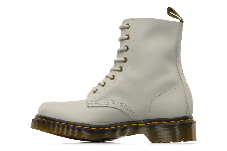 Stiefeletten & Boots Dr. Martens Pascal beige ansicht von vorne