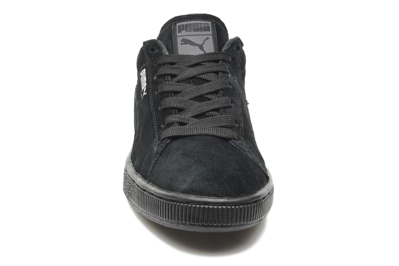 Sneaker Puma Suede Classic + schwarz schuhe getragen