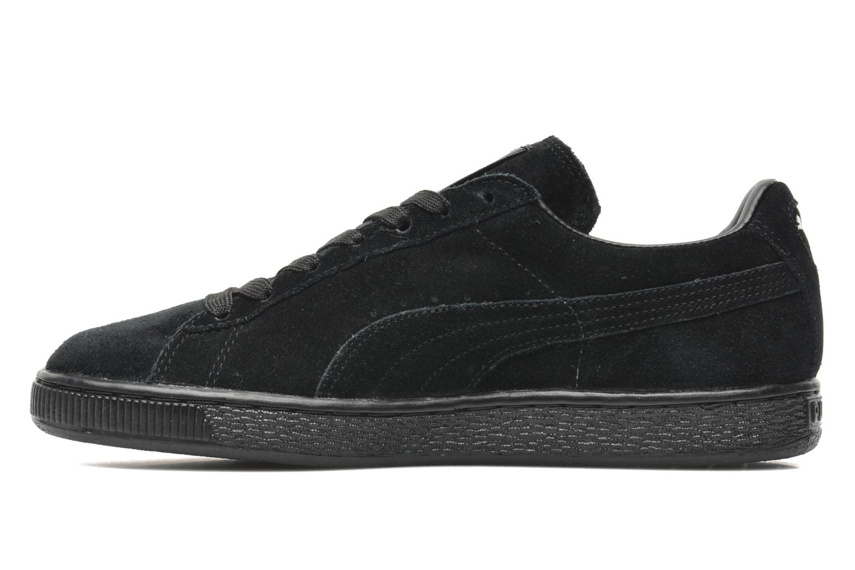 Sneaker Puma Suede Classic + schwarz ansicht von vorne