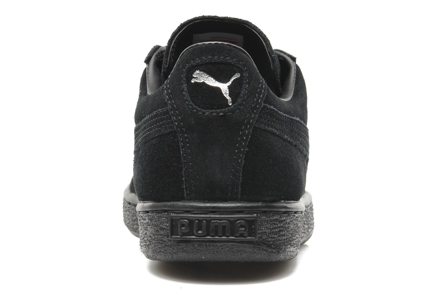 Trainers Puma Suede Classic + Black view from the right