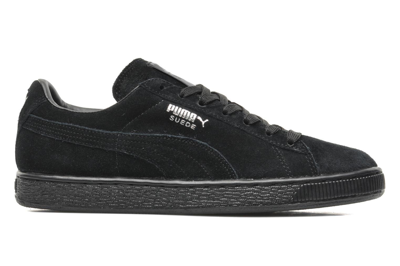 Sneaker Puma Suede Classic + schwarz ansicht von hinten