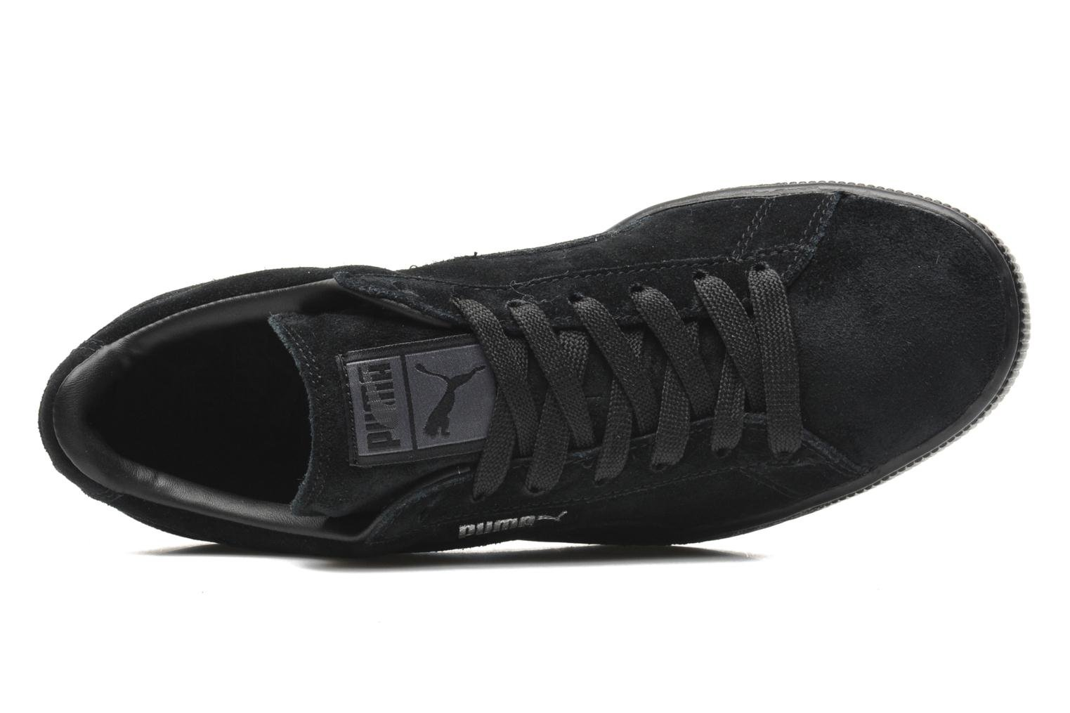Trainers Puma Suede Classic + Black view from the left