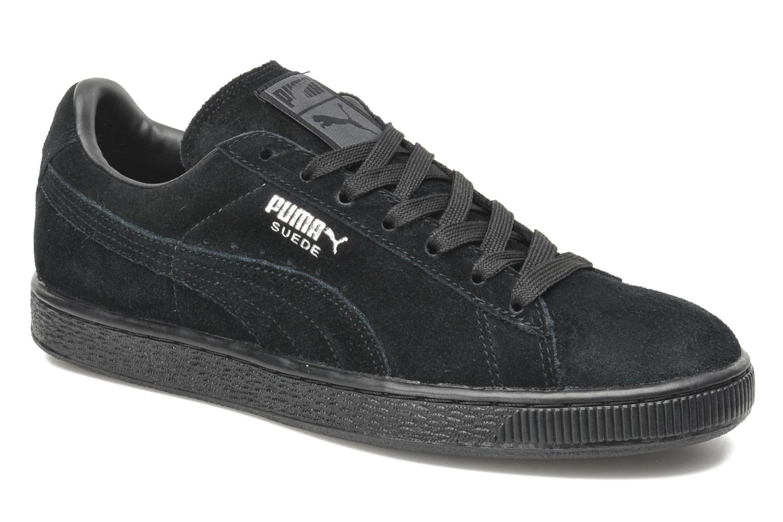 Sneakers Puma Suede Classic + Zwart detail