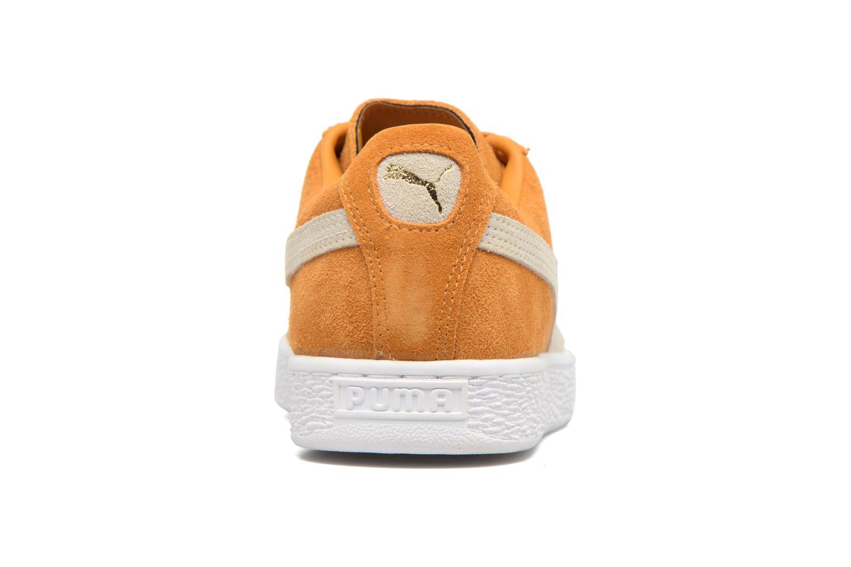 Sneaker Puma Suede Classic + gelb ansicht von rechts